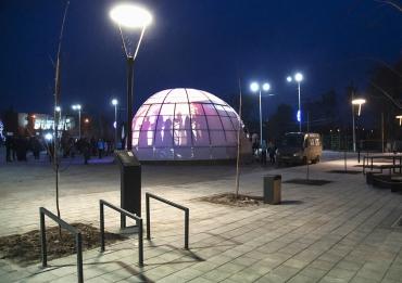 Завершен проект благоустройства центра города Хвалынска