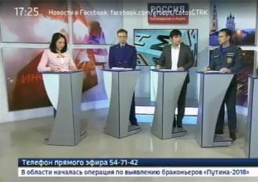 Джубанов Саид Мергенович: участие в телепрограмме по теме противопожарной безопасности